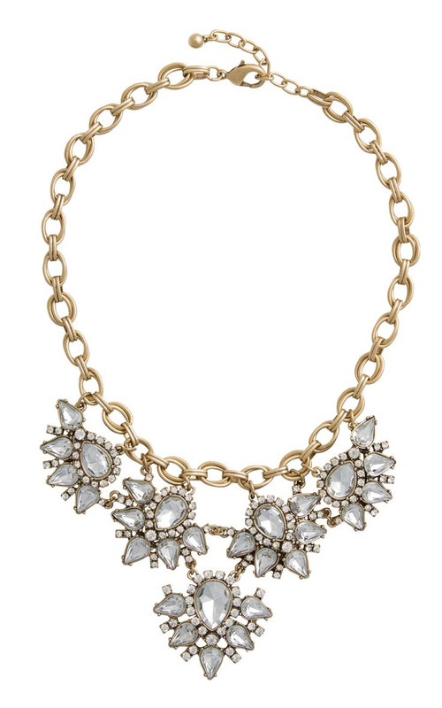 Sparkle Cluster Necklace