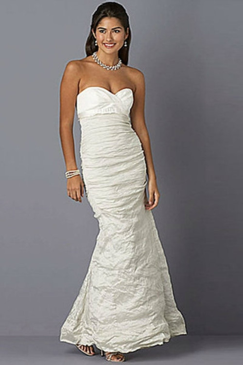 Nicole Miller Wedding Dress Jacquard & Metal Combo