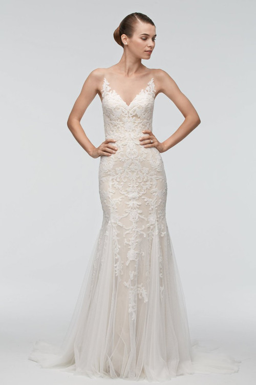 DISCONTINUED Watters Wedding Dress Kimura
