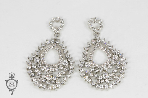 Justine M. Couture Secret Garden Earrings