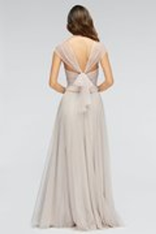 Watters Bridesmaids Dress Lotus Skirt