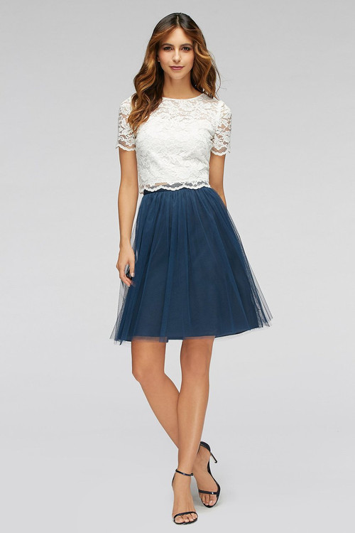 Watters Bridesmaids Dress Zahara Skirt