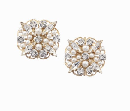 Charlotte Clip Earrings