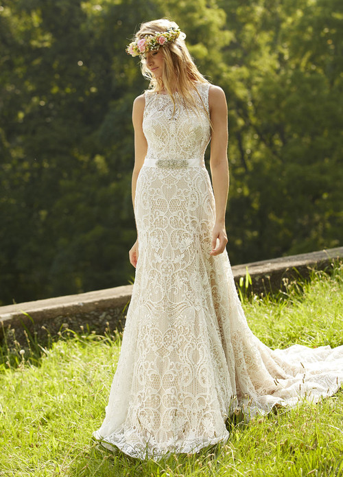 Ashley & Justin Wedding Dress 10452
