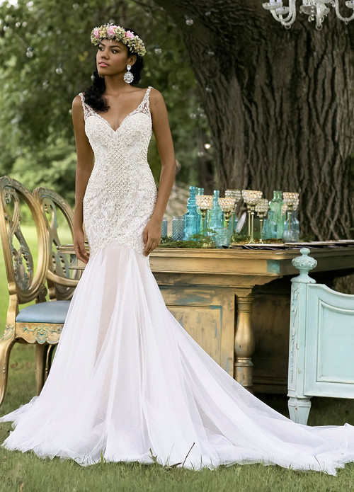 Ashley & Justin Wedding Dress 10467