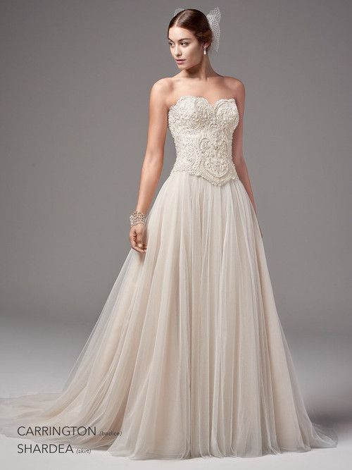 Sottero and Midgley Wedding Bodice Carrington-Shardea