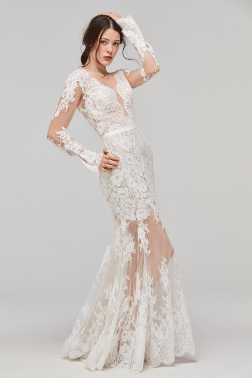 Willowby Wedding Dress Sage
