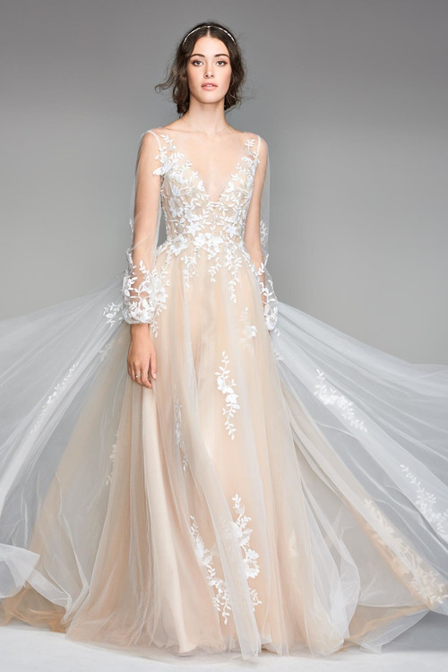 Willowby Wedding Dress Saros
