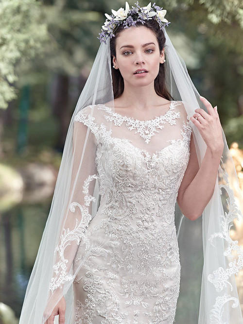 Maggie Sottero Wedding Dress Mercedes (6MN268)