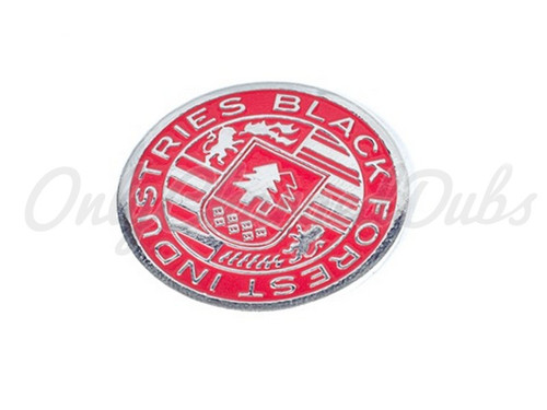 Red BFI Crest Coin for Heavy Weight Shift Knobs