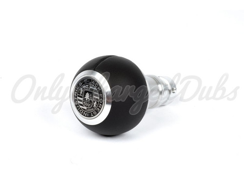 VW/Audi BFI Heavy Weight Shift Knob - Smooth Black Nappa Leather - Auto