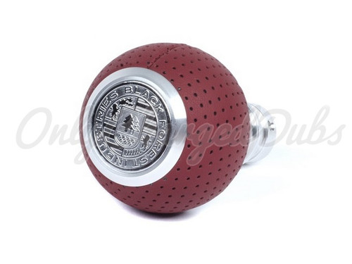 VW/Audi BFI Heavy Weight Shift Knob - Magma Red Air Leather - Auto