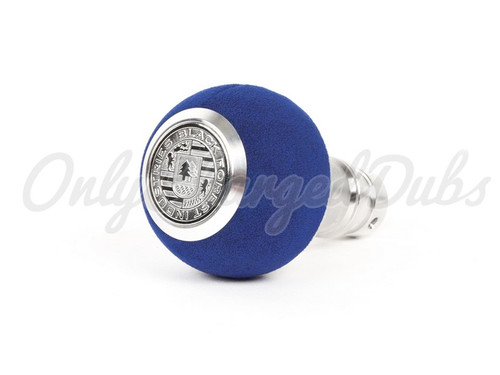 VW/Audi BFI Heavy Weight Shift Knob - Blue Alcantara - Auto