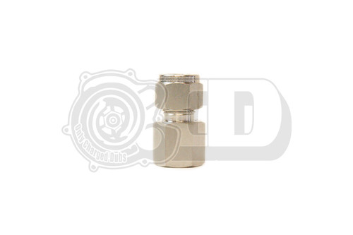 "3/8"" OD - Female NPT Straight Compression Stainless Fitting"