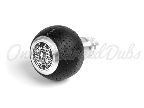 VW/Audi BFI Heavy Weight Shift Knob - Full Billet Machined/Air Leather - Auto
