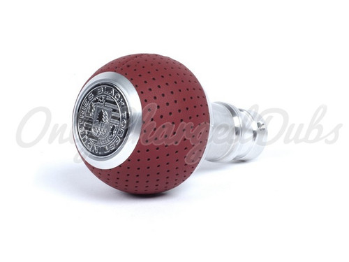 VW/Audi BFI Heavy Weight Shift Knob - Magma Red Air Leather