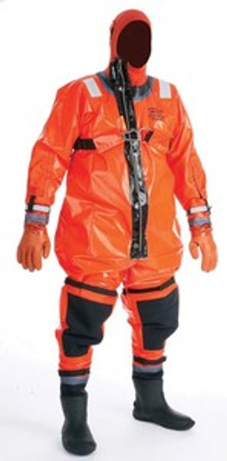 Warning Coverall Cold Water Rescue Suit