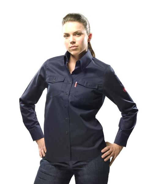 Womens Long Sleve Button Shirt 2.0