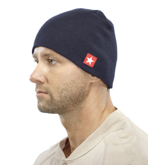 Blue Beanie Skull Cap