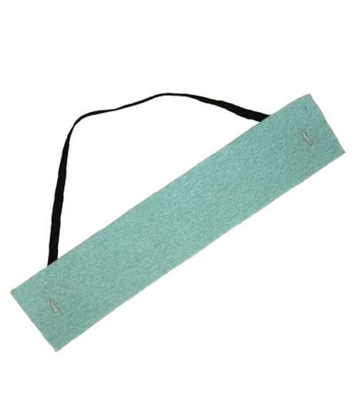 Polyporous Fiber Sweatband, Absorbent, Multi-Layer Fibrous Core,