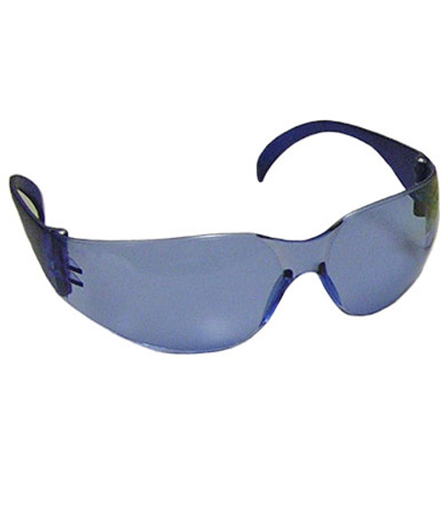 Bright Shine, Light Blue Hard Coat Lens, Light Blue Temples, Rimless