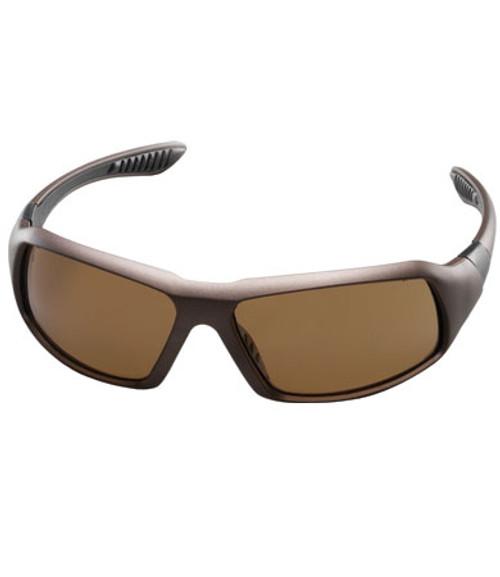 Tinted Eyewear, Brown Hard Coat Lens, Brown Frame, Rubber Temples