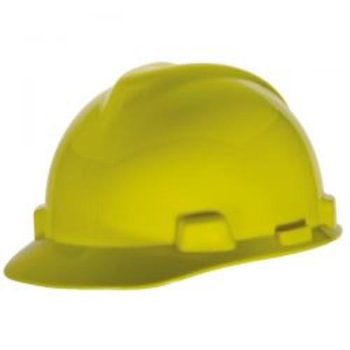 Yellow Half Brim Protective Cap