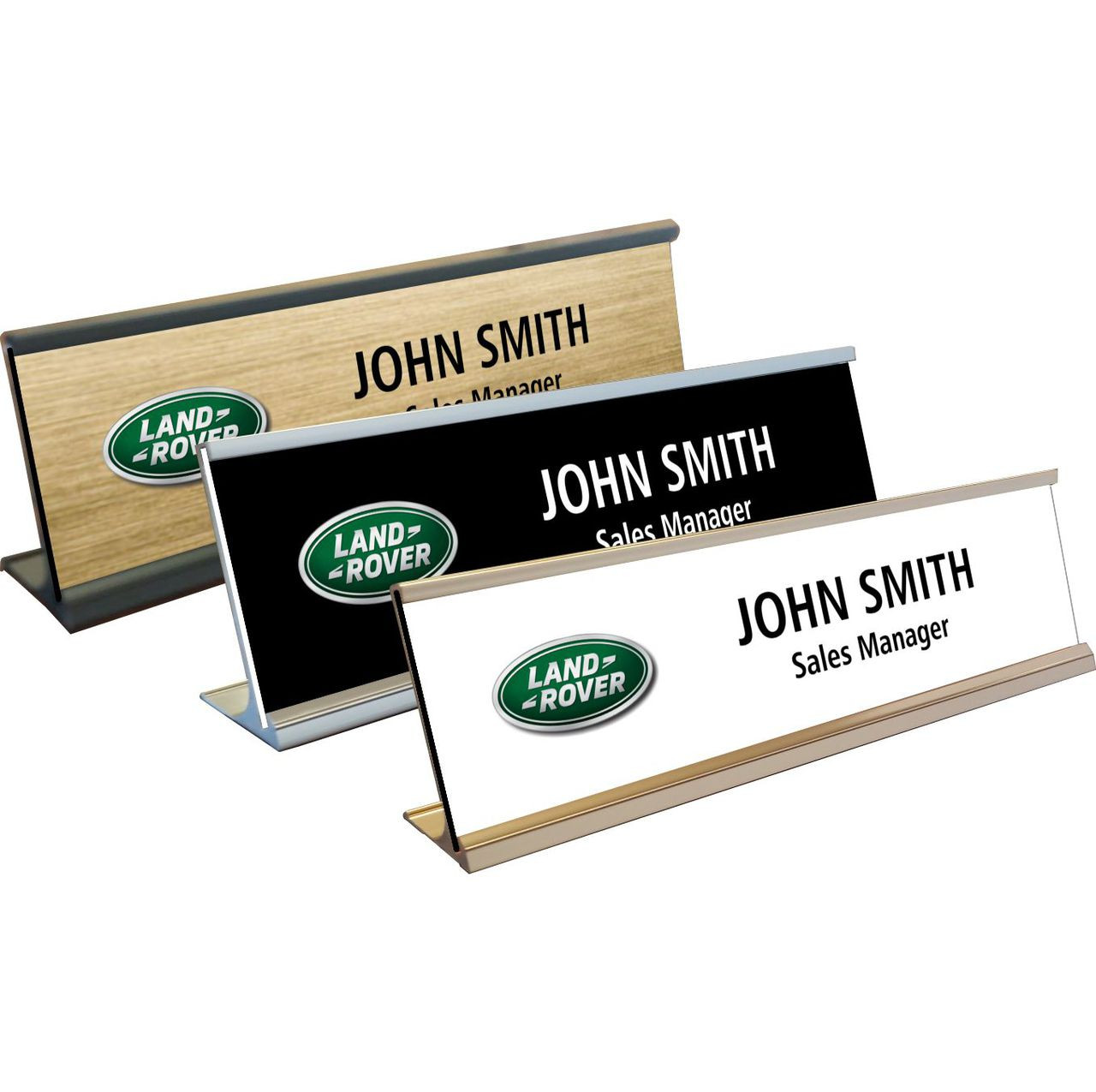 solid plate personalised for office plaque engraving name desk oak stylish engraved sign plates pin custom