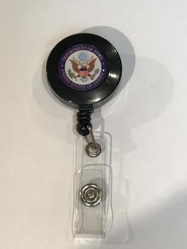 Retractable Badge Holder / DOS Logo