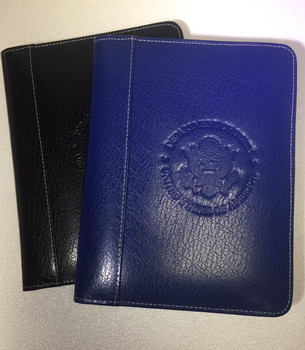 Leather Pad Holder / DOS Logo embossed