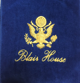 Golf Towel/ Blair House Logo Embroidered