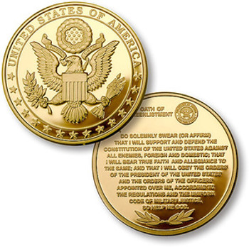 GREAT SEAL/ OATH OF RE-ENLISTMENT