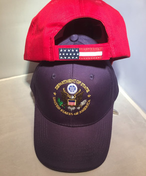 USA Flag with DOS logo Cap