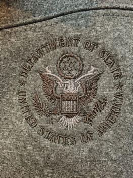 Men's FLASH Bonded Poly Jacket - DOS Logo