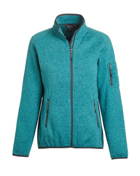 Ladies' Ashton Fleece  Jacket - DOS Logo