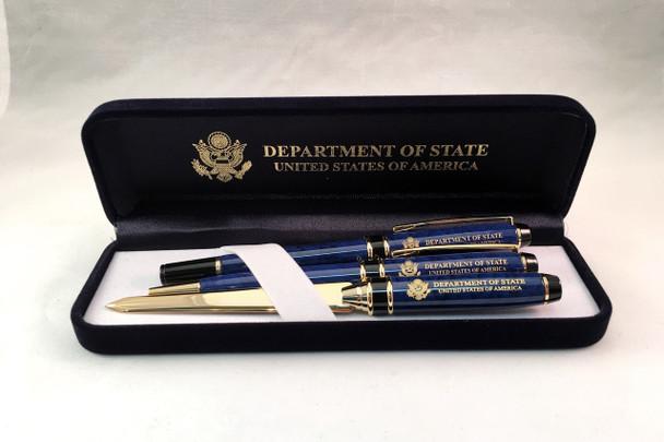 Pen set of 3/DOS Engraved