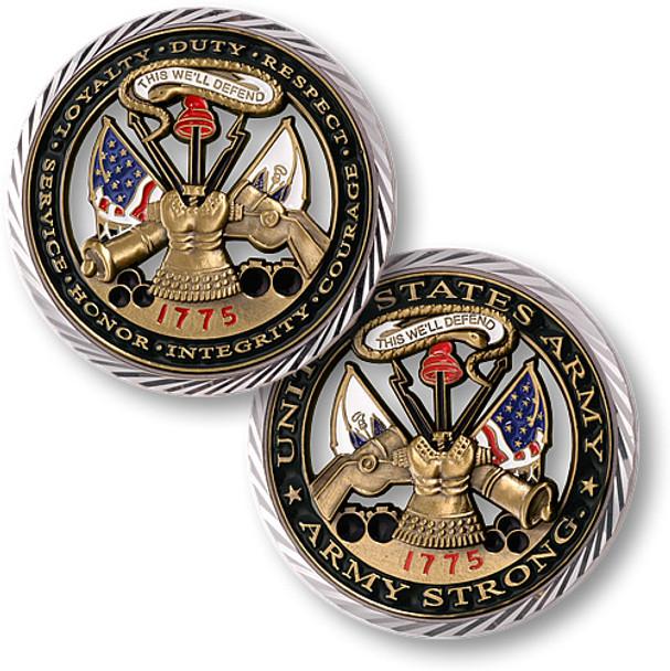 CORE VALUES - U.S. ARMY Commemorative Coin