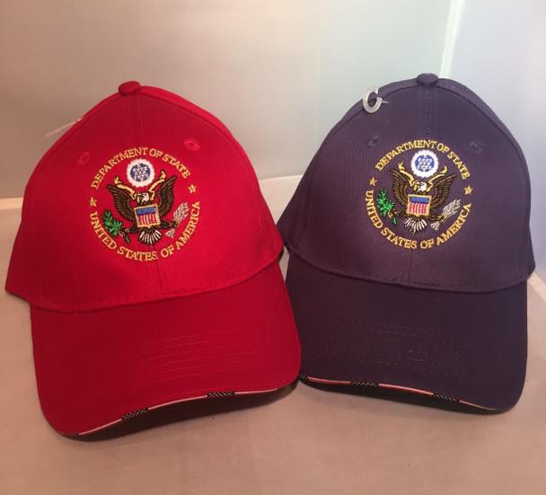 USA Flag with DOS logo Cap