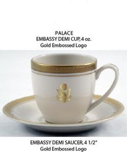 Palace Demitasse Cup w/Crest