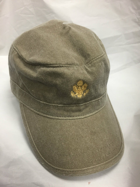 Military Cap / Gold Great Seal Embroidered