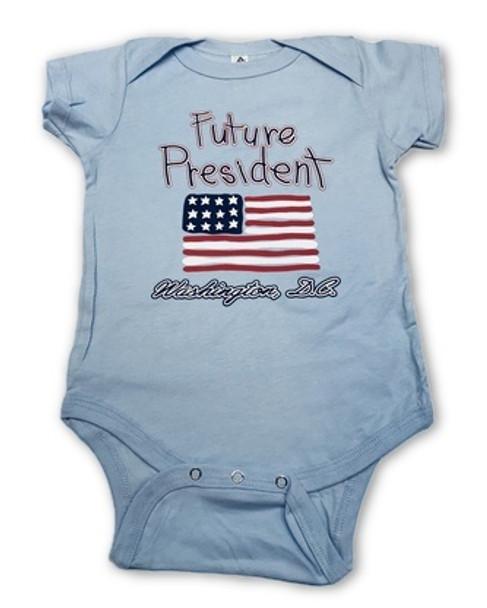 """Baby Onesie """" Future President"""" Washington DC"""
