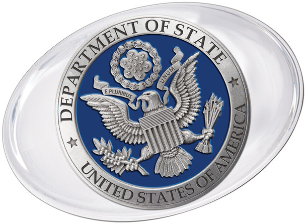 Pewter Paperweight w/ DOS logo