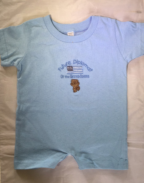 Infant Romper T-Shirt/ Future Diplomat
