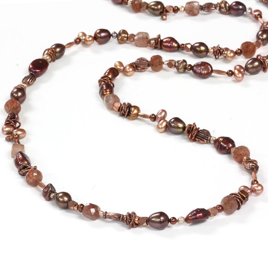 Copper Necklace & Bracelet