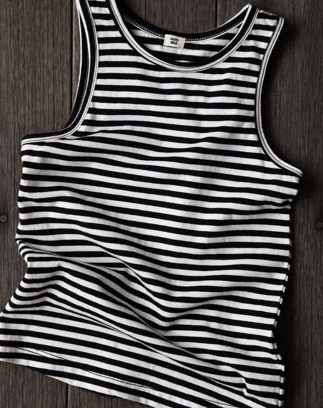 Sleeveless Top (Striped)