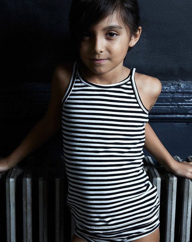 Girl's Tank Top (Striped)