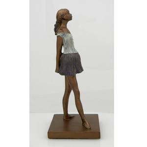 Sculpture: Degas' Little Dancer, Aged Fourteen 8 in.