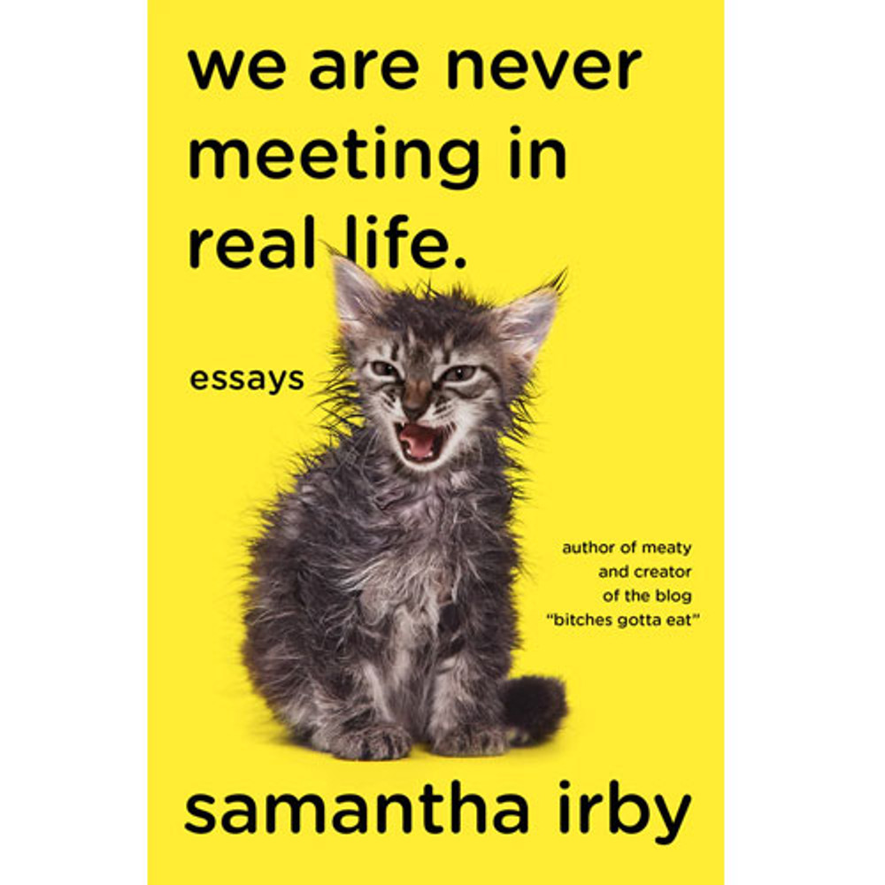 We Are Never Meeting in Real Life: Essays by Samantha Irby