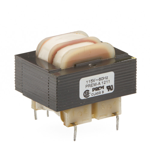 SLP-24-402: Single 24V Primary, 2.4VA, Series 16VCT @ 150mA, Parallel 8V @ 300mA