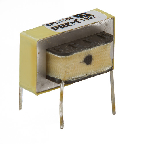 "SPT-1104-UL: 600Ω:600Ω Impedance, 0.790"" Max. L x 0.480"" Max. H, Coupling Transformer"